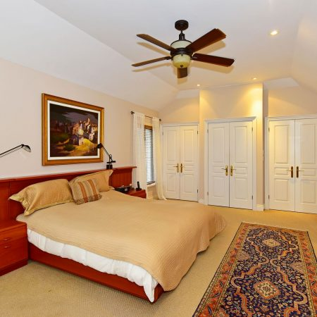 543 Cranbrooke Avenue Master Bedroom with His and Hers Closets